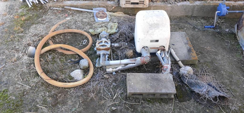井戸ポンプ メンテナンス