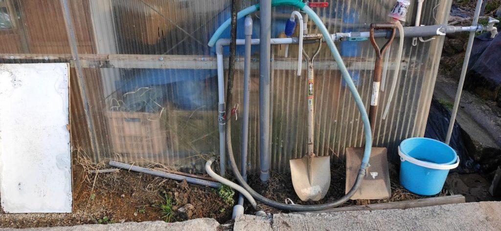 水漏れ配管の修理