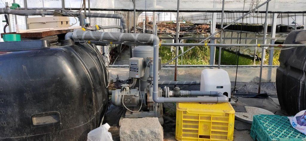 送水制御システムの変更