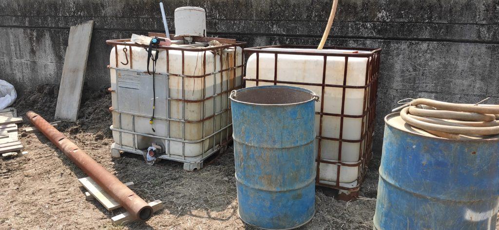 井戸掘削用の泥水生成