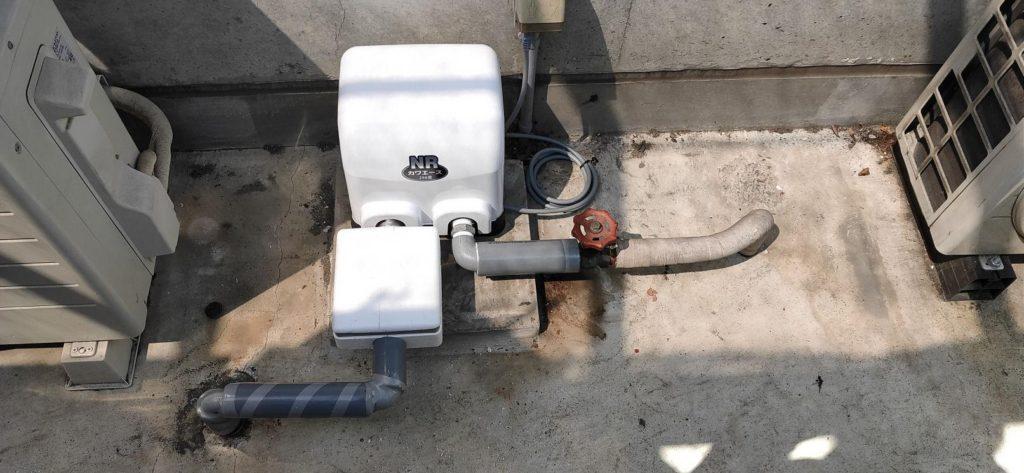 井戸ポンプ取替 川本 NR-256S 砂こし器
