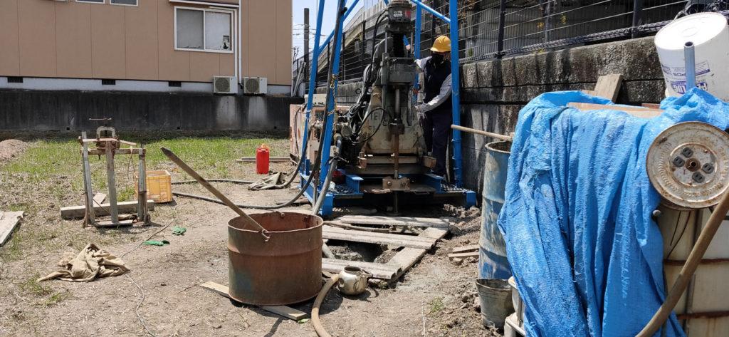 深井戸ボーリング掘削工事