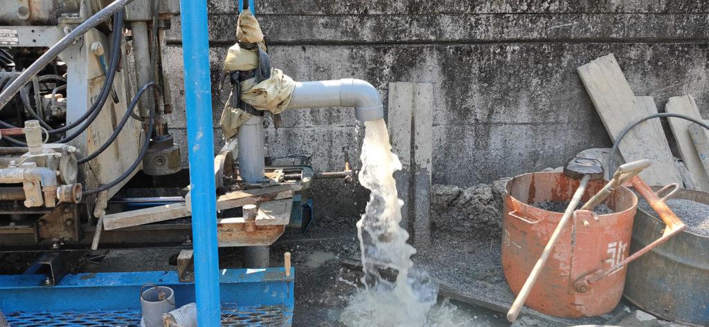 井戸洗浄 エアーリフト