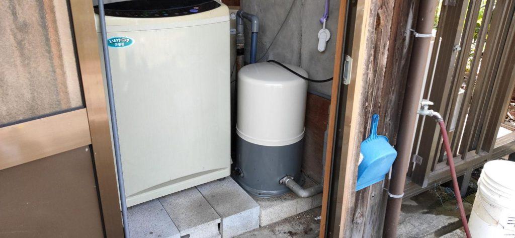 既存の井戸設備