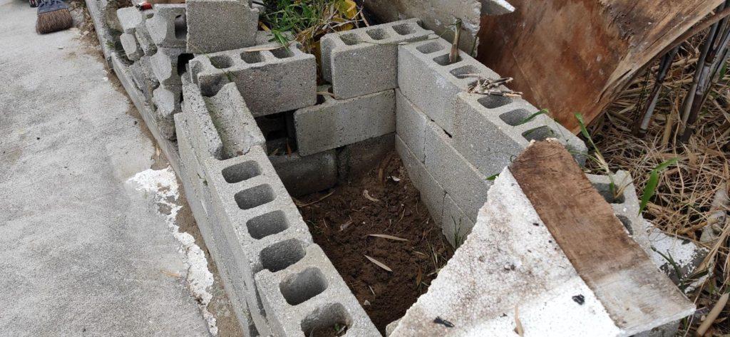 埋設した井戸