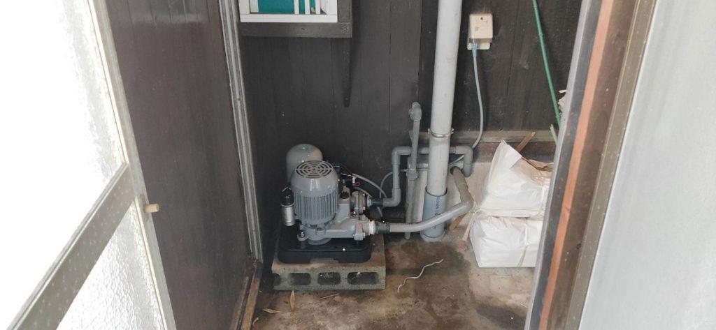 井戸ポンプ取替 川本ポンプ N3-406SHN