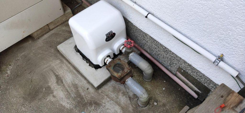 井戸ポンプ取替 川本製 NR-206S