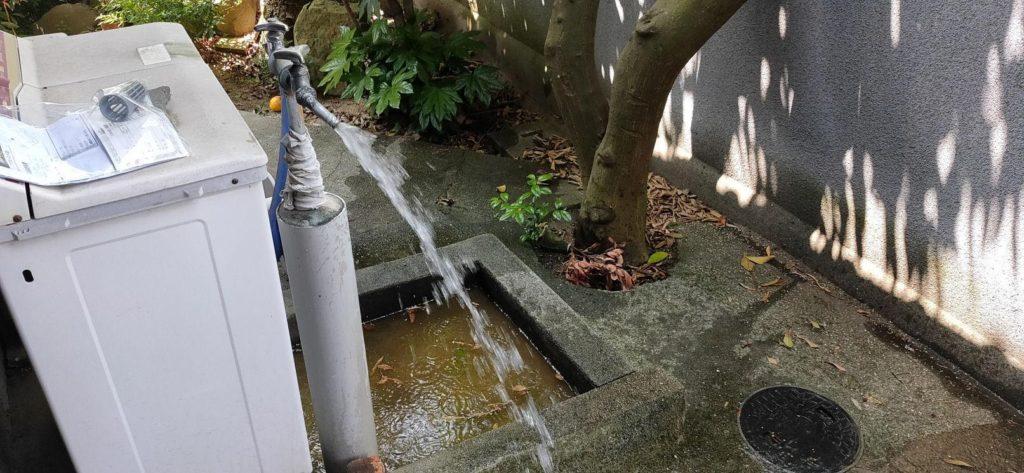 井戸ポンプ取替