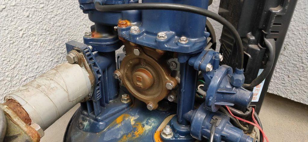 ポンプ修理 日立製WT-P300V