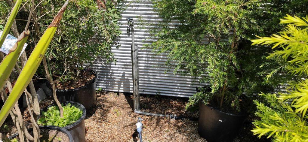 井戸水専用蛇口を新設