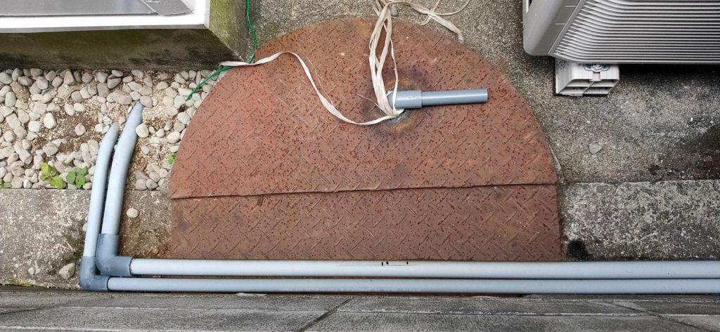 鉄板に穴を開ける