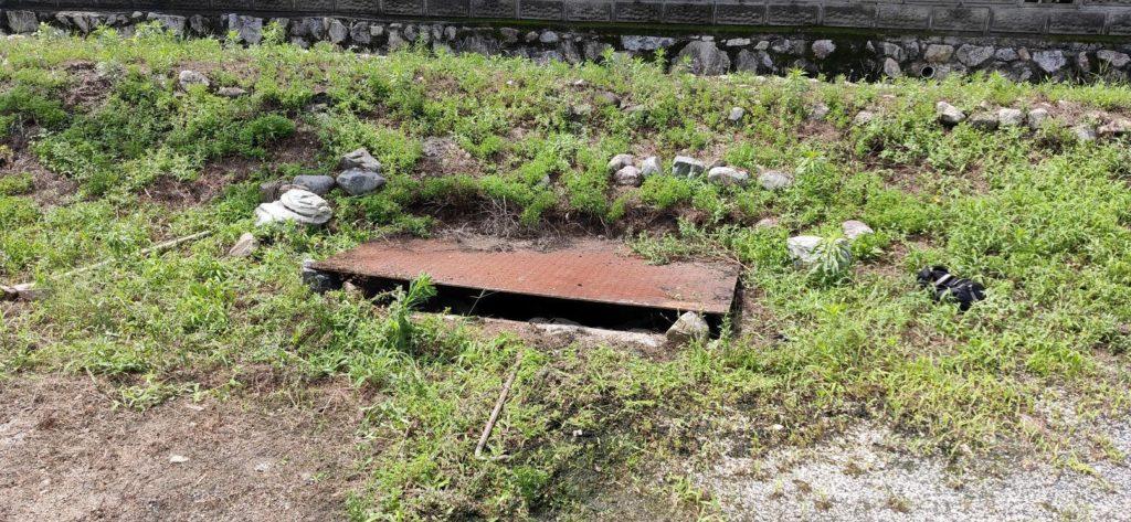 井戸の埋め戻し 視察