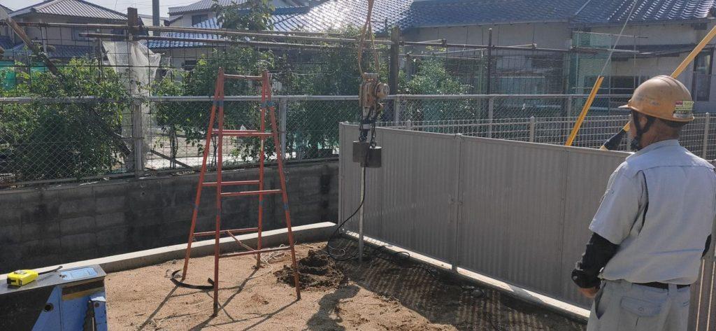 打抜き井戸工事 松山市立花
