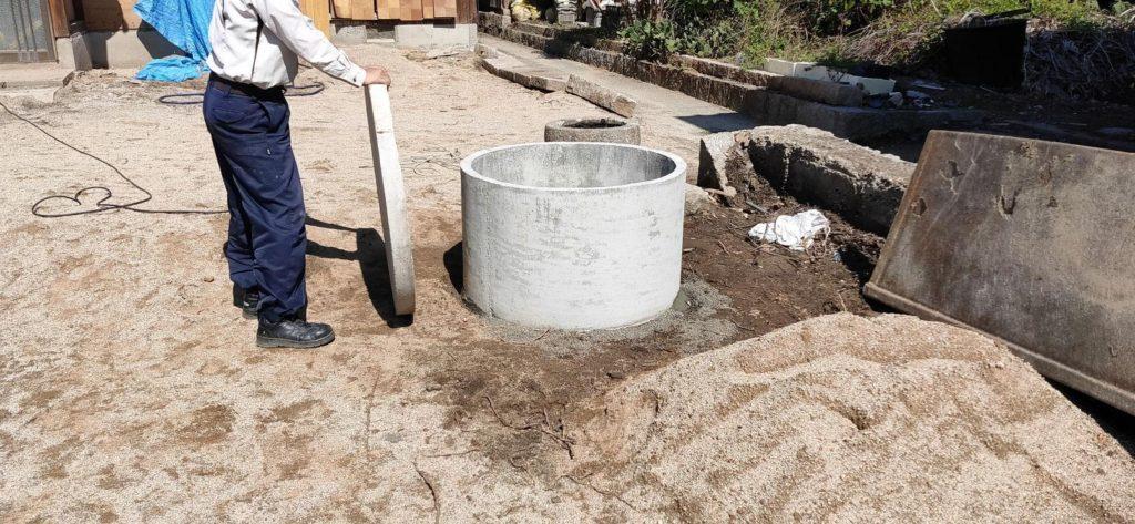 井戸 改修工事